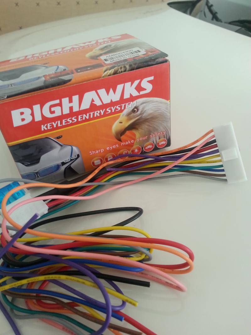 Bighawks Keyless Entry System Wiring Diagram