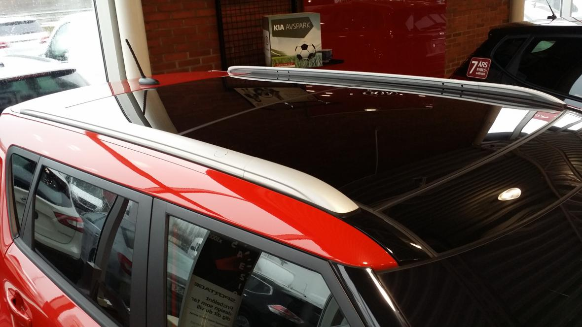 KIA SOUL With PANORAMIC ROOF RAILS Are Available For 2014, 2015 And 2016  Models!
