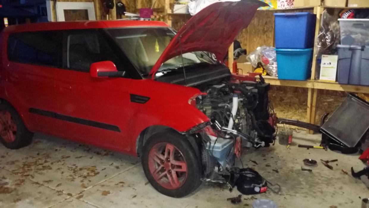 Kia Soul: Radiator Removal and Installation