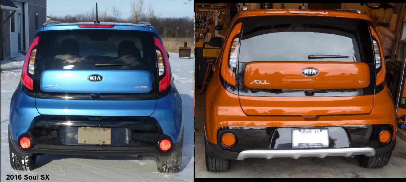 2017 Kia Soul Facelift Colors And New Features 2016 Sx Vs