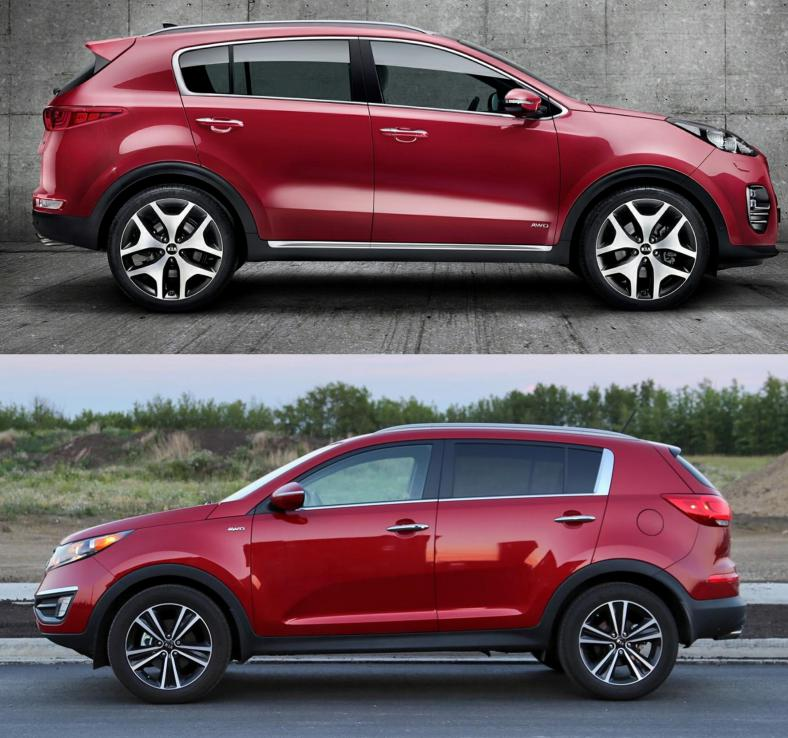 2017 Kia Sportage Next Generation Vs 2016