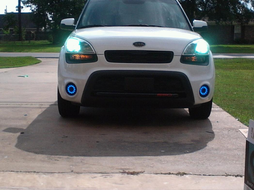 Aftermarket Headlights Kia Soul Pictures