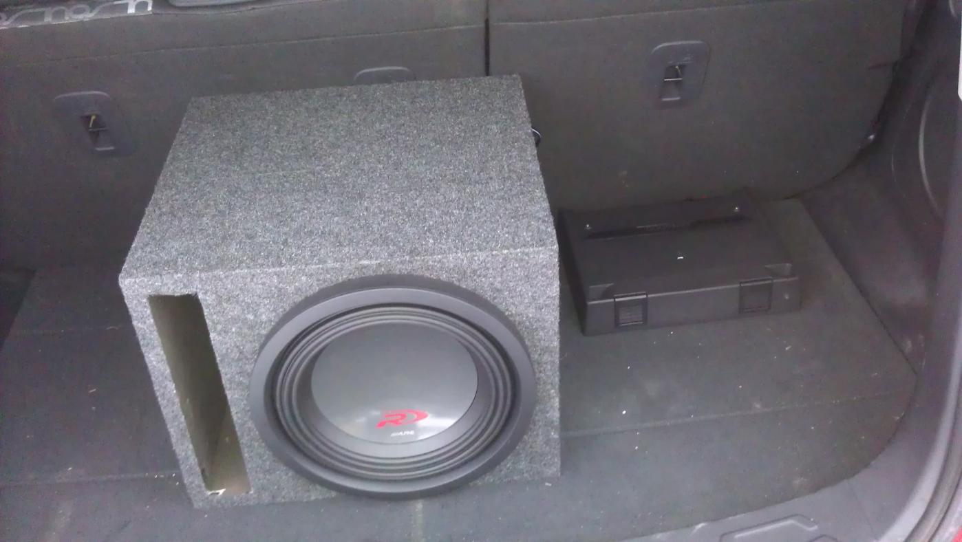 Alpine type r amp