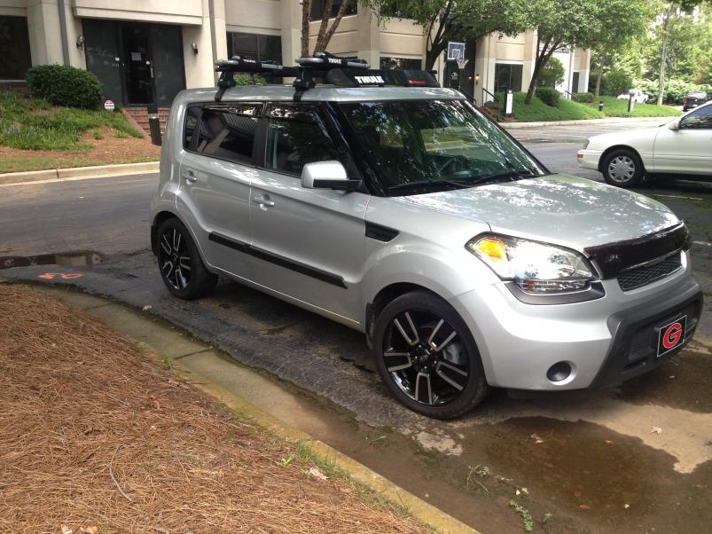 2011 Soul With 18 Rims On Factory Tires Looking For More Off Road