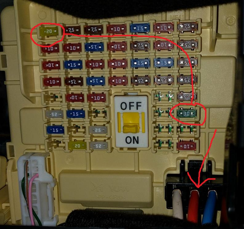 104194d1501169650 12v constant power source fuse box w add tap cigarette outlets img_20170727_104702 12v constant power source at fuse box w add a tap for cigarette fuse box power tap at creativeand.co