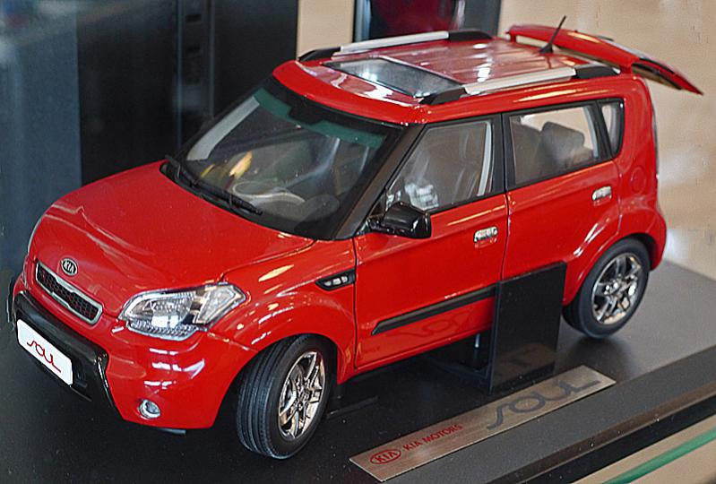 Name Kia Soul Model Scale Toy 2010 Jpg