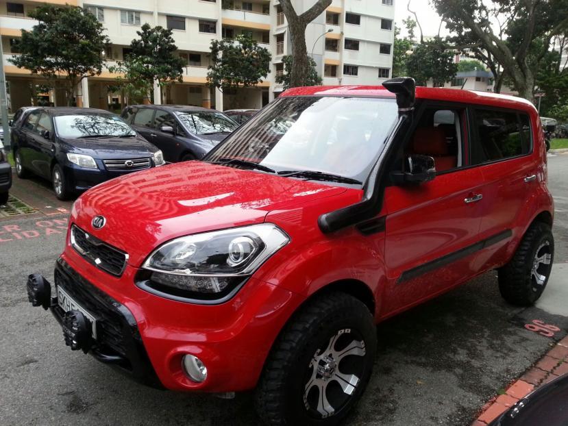Off Road Kia Soul Smart Car Forums