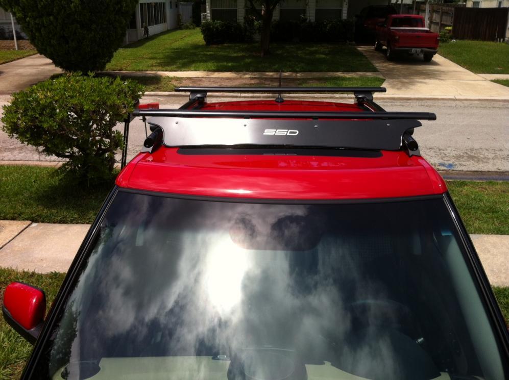 Roof Rack Is ON! Thanks SSD Kia Soul Roof Rack2.