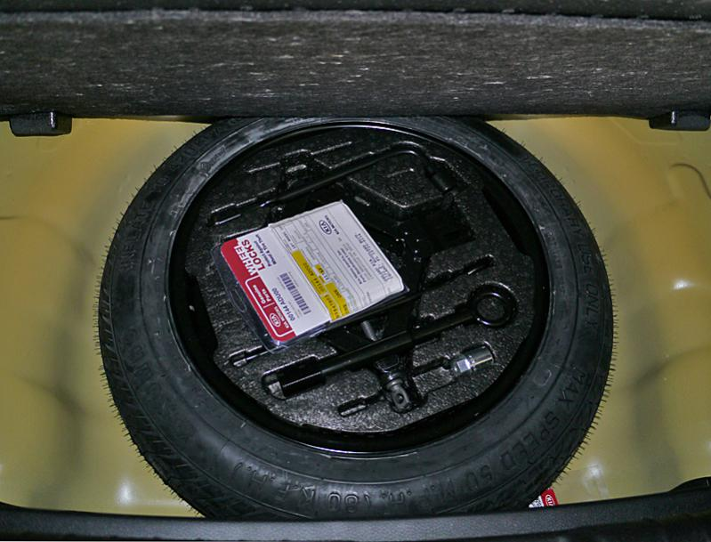 Spare Tire For The 2014 Soul