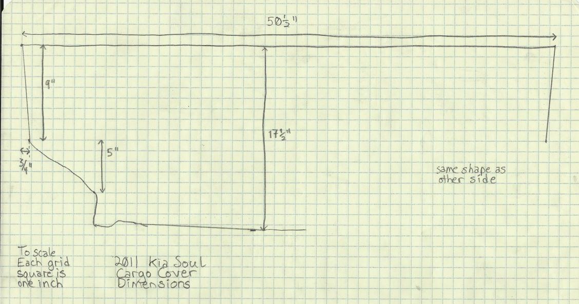 2012 kia soul cargo cover page 2. Black Bedroom Furniture Sets. Home Design Ideas