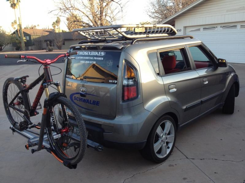 Good Kuat Roof Rack(made Possible By Help From SSD) And Kuat Nv Bike Carrier