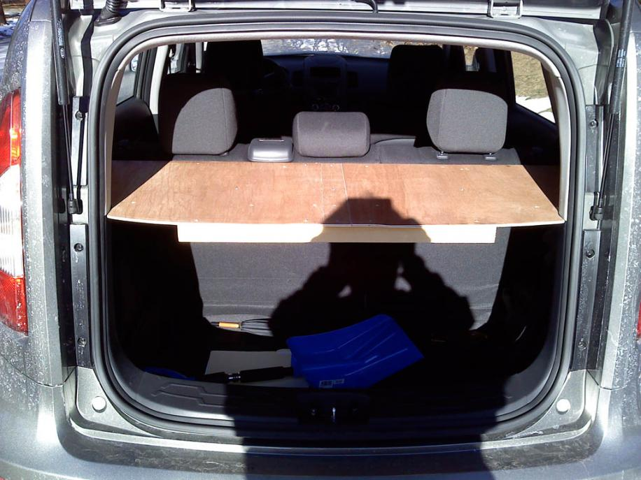 Nissan Murano 2011 Cargo Cover Project - All Home Depot Stuff and it Beats ...