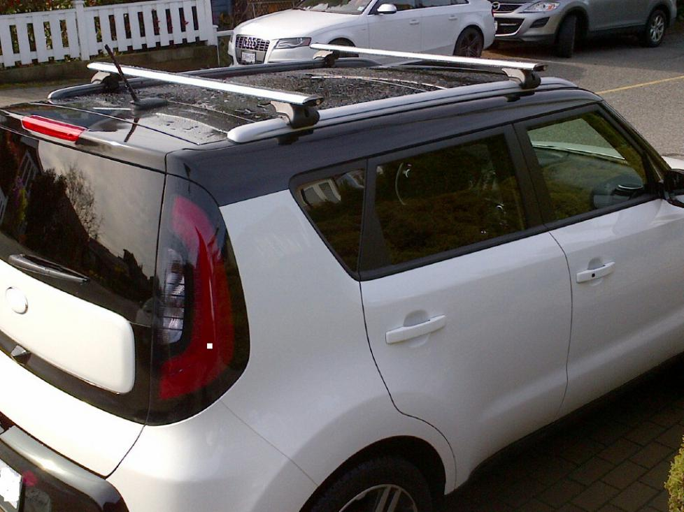 Cheers Roof Rails   Canadian Version Tails Kia