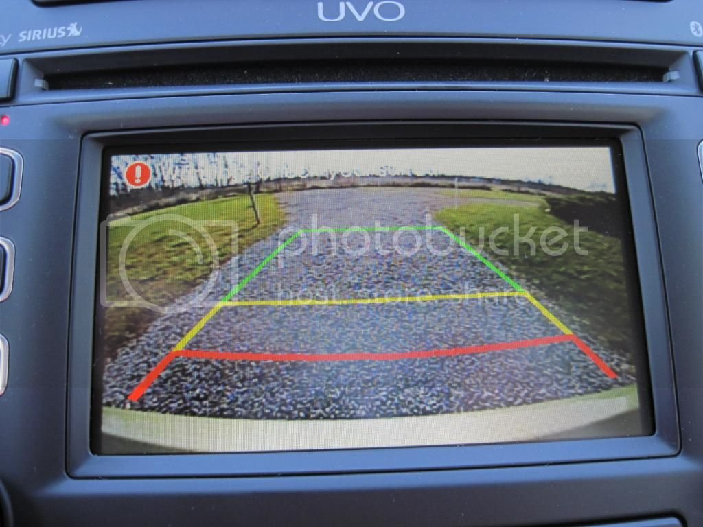 Does the Kia Soul + with backup camera come with audio warning | Kia