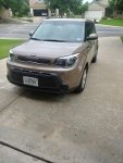 2014 KIA SOUL BASE LATTE BROWN