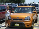 2011 KIA SOUL IGNITION ORANGE
